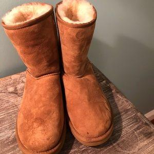 UGG boots women tan short